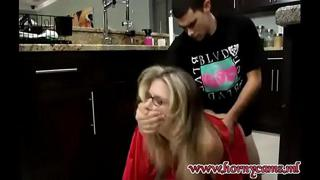 Cory Chase is force Fucked by her Step Son