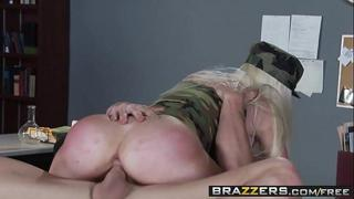 Military slut (Alexis Ford will) do anything to get the job done - BRAZZERS
