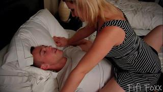 Sister Blackmails Brother into Taking Her Virginity - Fifi Foxx
