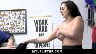 Macey Jade Caught Stealing Fucked By Pervy Store Officer