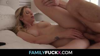 Big Titty Milf Stepmom Lets Her Stepson Know She Wants To Fuck